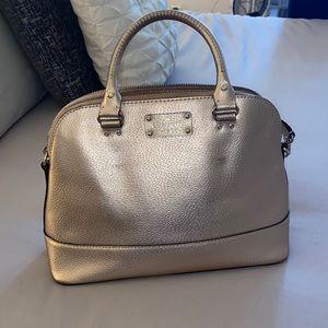 Rose gold Kate Spade Handbag